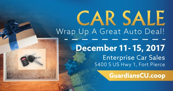Car Sale during December 11-15, 2017