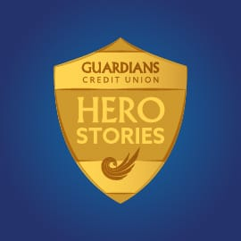 The Hero Stories gold badge