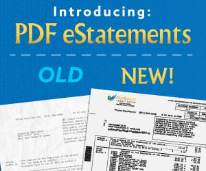 Comparison between the old and new PDF eStatements