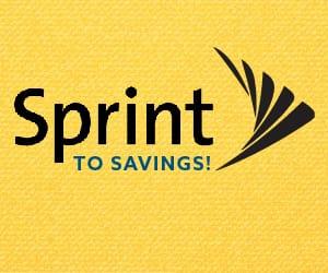 Sprint to Savings logo