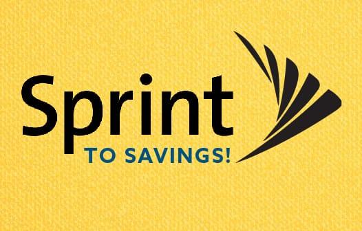 Sprint to Saving logo