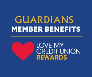 Love My Credit Union Rewards logo.