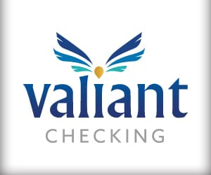 The Valiant Checking logo.