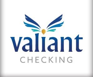 The Valiant Checking logo.