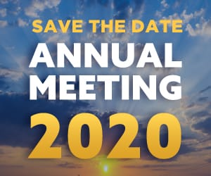 Save the date annual meeting 2020