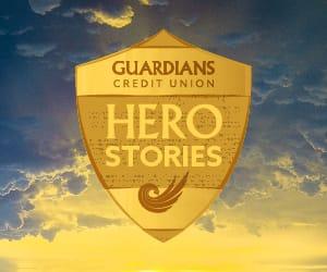 Guardians Hero Stories logo.