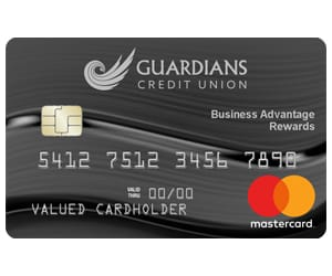 A view of the Business Advantage Rewards credit card.